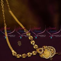 NL10014 Ruby White Real Look Gold Jewellery Finish Imitation South Indian Low Price Online