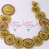 H9919 Temple Hair Jada Set Handmade Kemp Antique Jewellery Buy Online