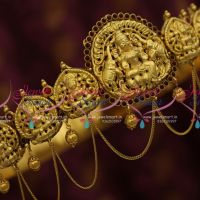 H9827 South Indian One Gram Antique Nagas Vaddanam 31 To 37.5 Inches Waist Size Adjustable Shop Online