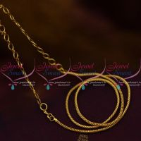 Roll Kodi Design Short Gold Plated 14 Inches Chain Back Adjustable Rings Suitable Pendant Sets Daily Wear Jewellery