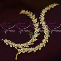 white-latest-semi-precious-stones-ear-chains-mattal-fancy-jewellery-collections