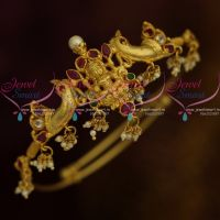 Latest Traditional South Indian Wedding Jewellery Round String Vanki Temple Collections Online