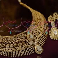 Broad Big AD Jewellery Intricate Close Flexible Stone Setting Rich Look Bridal Collections