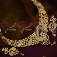 Latest Pearl AD Blended Design AD Jewellery Fashion Collections Online