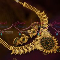 Peacock Design Kemp Green Colour Fancy Design Antique Fashion Jewellery Shop Online