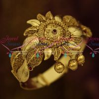 Antique Belt Adjustable Vanki Baju Band Big Size Floral Design Wedding Jewellery Collections