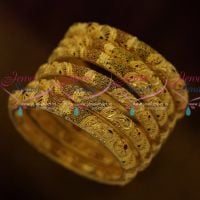 Premium Real Look 100 MG Forming Enamel Colour 6 Pcs Light Weight Bangles Shop Online