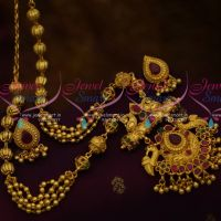 Traditional Nakshi Handmade Beads Gundla Mala One Gram Jewellery Collections Buy Online
