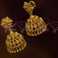Leaf Design Jhumka Earrings South Indian Handmade Imitation Jewellery Online