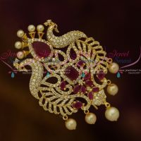 AD Stones Imitation Hair Accessory Choti Bridal Decoration Collections Online