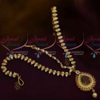 AD Stones Multi Colour Damini MathaPatti Nethichutti Imitation Jewellery Set Buy Online