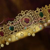 Small Size Baby Girl Vaddanam 23-28 Inches Adjustable AD Jewellery Online