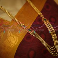 Bairavaa Movie Fame Multi Strand Kemp Beaded Necklace Online