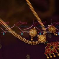 Kemp Traditional Attiga Chain Pendant Earrings Ethnic Jewellery Designs Online