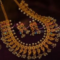 Gutta Pusalu South Indian Jewellery Matte Gold Latest Fashion Collections Online