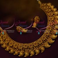Mango Nakshi Floral Beads Jalar Design Antique Necklace Premium Jewellery Collections