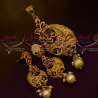 Matte Gold Plated Price Imitation Latest Jewellery Designs Online
