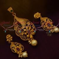 Matte Antique Gold Plated Price Imitation Latest Jewellery Designs Online