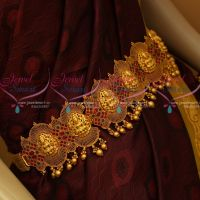 Temple Jewellery Nagas Vaddanam Belt Handmade Bridal Designs Shop Online