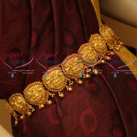 Temple South Indian Traditional Wedding Jewellery God Design Vaddanam Online