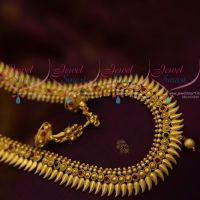 Kerala Style Antique Gold Plated Ornaments South Indian Haram Jewellery Designs