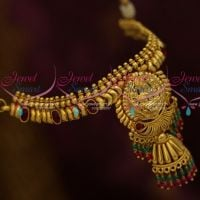 Temple Jewellery Baju Band Rope Adjustable Traditional Design Imitation Online