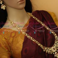 AD Stones Jewellery Haram Floral Design Broad Grand Bridal Collections Online