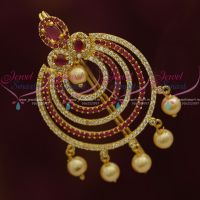 Fancy Design AD Ruby White Jada Single Piece Choti Jewellery Shop Online