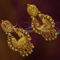 Antique Peacock Temple Traditional Ear Studs South Indian Jewellery Collections Online