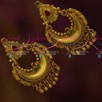 Antique Chand Bali Style Fashion ScrewBack South Indian Jewellery Collections Online