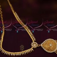 White AD Beads Design Jewellery Thin Flexible Chain Latest Collections Online