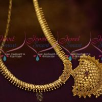 Kerala Beads Design Chain Pendant South Indian Low Price Fashion Jewellery
