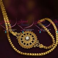 24 Inches Fancy Chain AD Mugappu South Indian Fashion Daily Use Jewellery Online