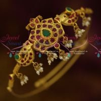 South Indian Jewellery BajuBand One Gram Gold Plated Imitation Collections Online
