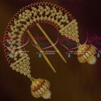 AD Ruby Jewellery Hair Accessory Rakodi Fancy Imitation Ornaments For Women Online