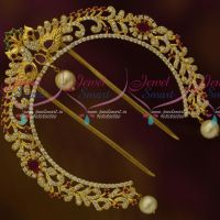 Peacock Design Jada Billa Rakodi AD Hair Accessory Imitation Bridal Ornaments For Women Online