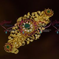 AD Fashion Jewellery Gold Plated Multi Colour Hair Clip Women's Accessory Buy Online