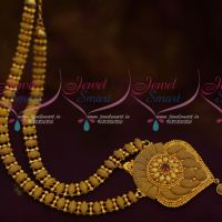 Latest Design South Indian Covering Jewellery Gold Plated Haram Collections Low Price Online