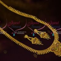 Enamel Finish Pendant Thin Haram Chain South Indian Traditional Jewellery Collections Online