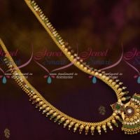 Kerala Style South Indian Jewellery Beads Haram AD Multi Colour Stones Shop Online