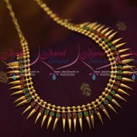 Kerala Style South Indian Ruby Emerald Jewellery Latest Trendy Collections Shop Online