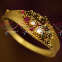 Stylish One Gram Screw Open Kada Antique Floral Design Collections Shop Online
