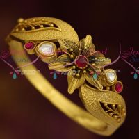 One Gram Antique Dull Finish Screw Open Kada Latest Stylish Jewellery Shop Online