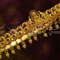 Gajalakshmi Design Temple Vaddanam One Gram Gold Plated Traditional Bridal Jewellery Collections South Indian Online