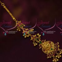 Temple Jewellery NethiChutti MaangTikka Traditional South Indian Nagas Collections Online