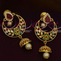 AD Chand Bali Multi Colour Fancy Ear Studs Latest Womens Fashion Jewellery Online