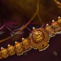 Antique Temple Jewellery Adjustable Chain Nagas Vaddanam South Indian Matte Gold Latest Traditional Ornaments Online
