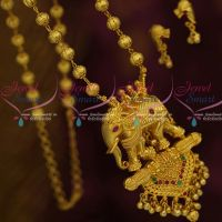 One Gram Bahubali Movie Style Royal Beaded Jewellery Elephant Design Collections Online