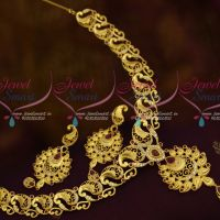 AD Mango Design Fashion Jewellery Light Gold Matte Casting Design Forming Plated Jewellery Online