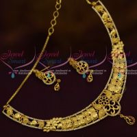 Trendy Fashion Jewellery Collections Light Matte Gold Forming One Gram Jewellery Collections Shop Onlinebg